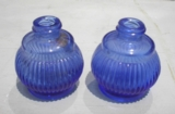 Blue Salt Shakers